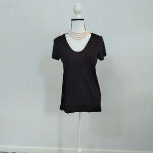 Caslon black T-shirt size small